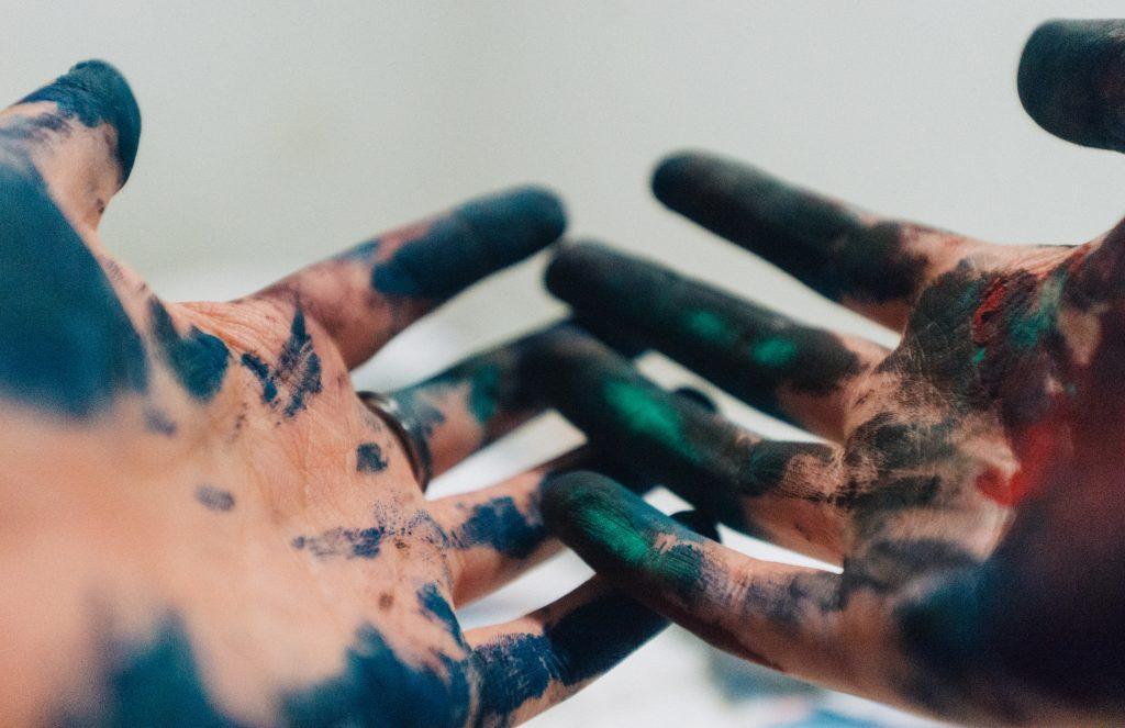 Create Art through Controlled Surrender